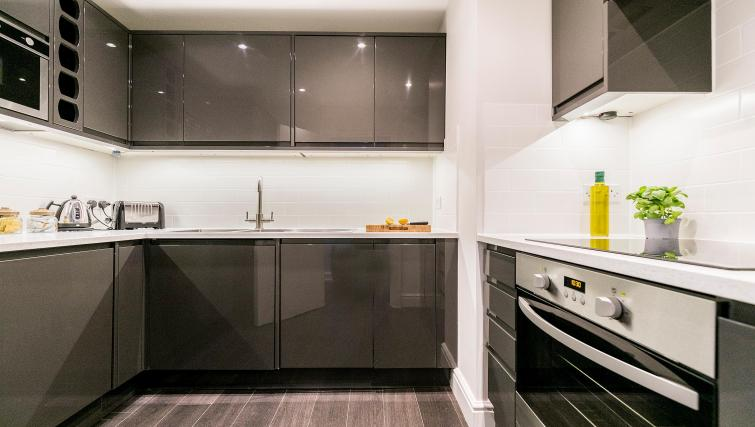 Kitchen area at Native Fenchurch Street Apartments