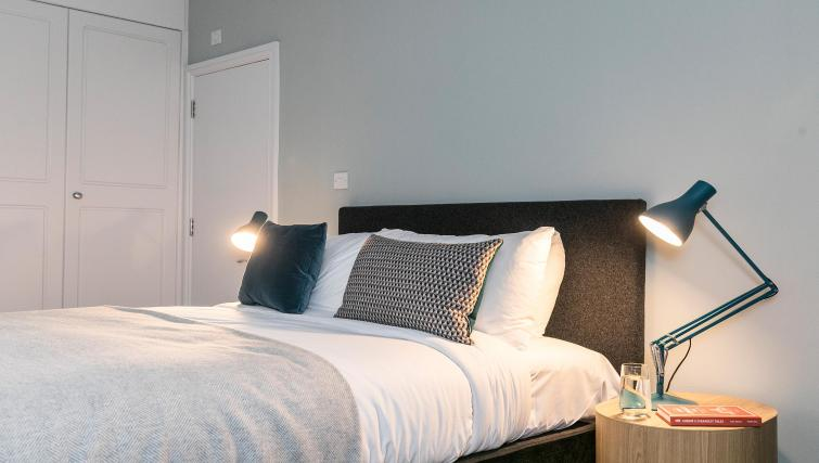Modern bedroom at Native Fenchurch Street Apartments