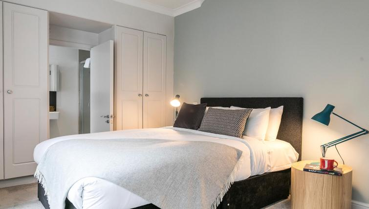 Stylish bedroom at Native Fenchurch Street Apartments