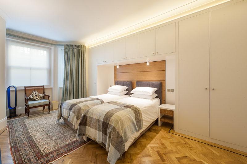 Bedroom at Cornwall Gardens Apartment, Kensington, London