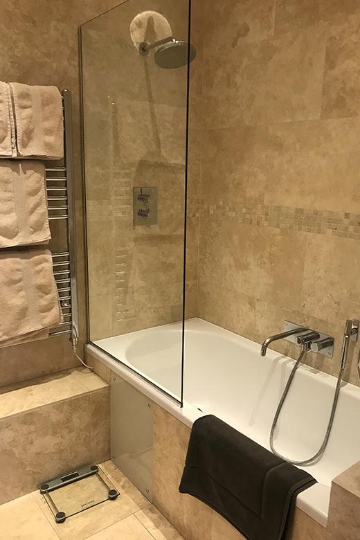Bathroom at Cornwall Gardens Apartment, Kensington, London