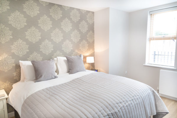 Bedroom at Hinton House Apartments, Mill Road, Cambridge