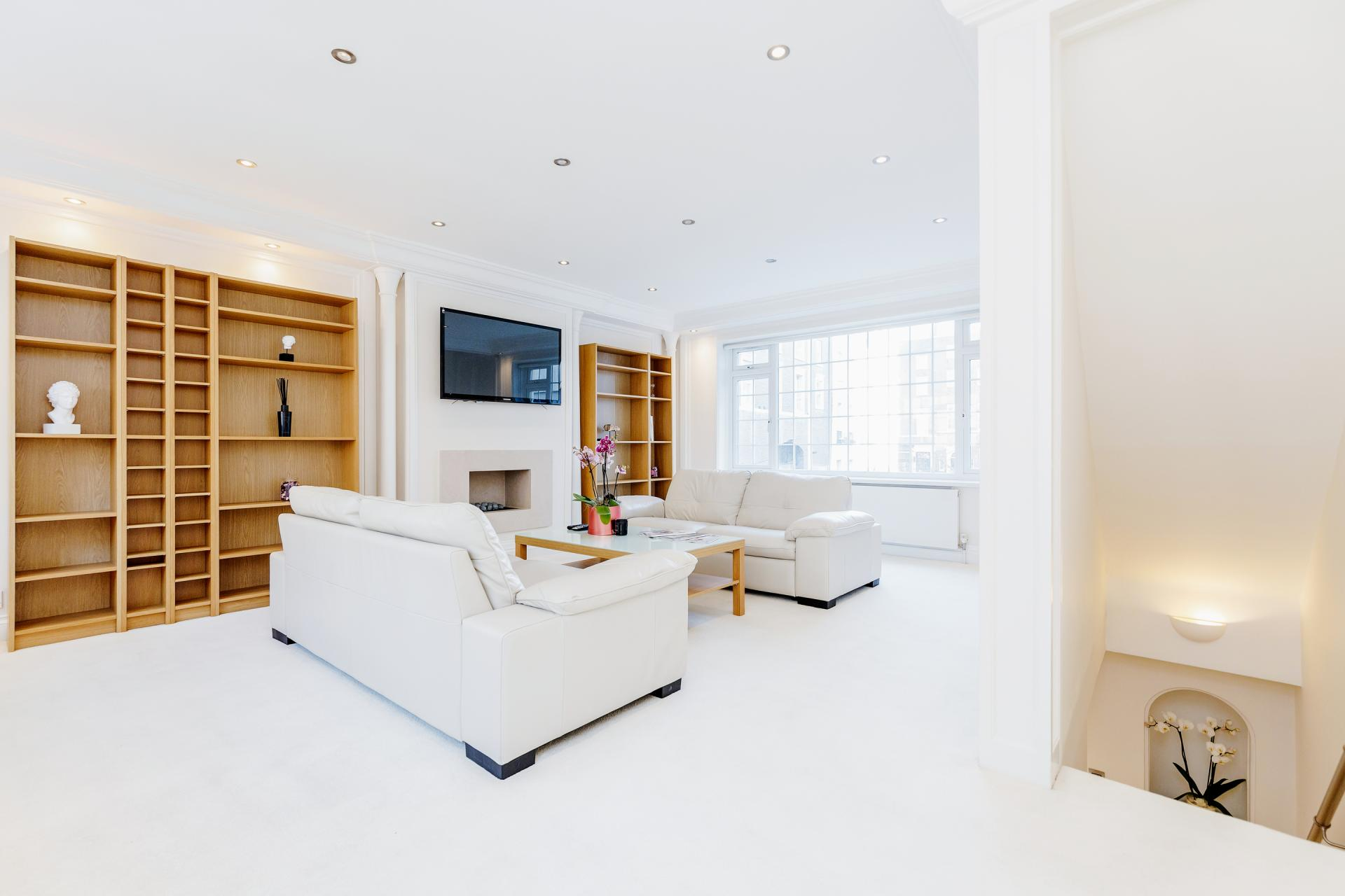Sofa at Mayfair House, Mayfair, London