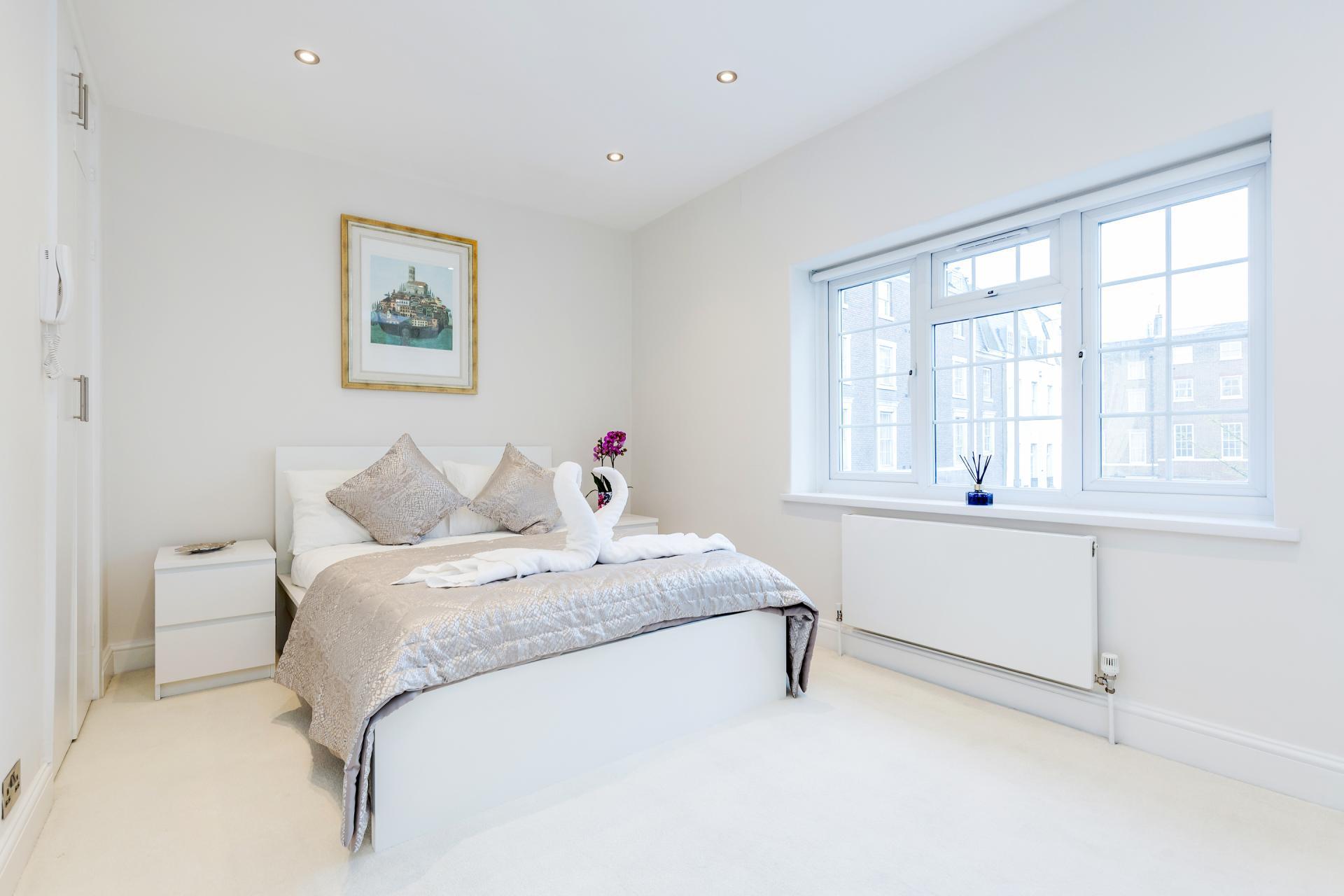 Bedroom at Mayfair House, Mayfair, London
