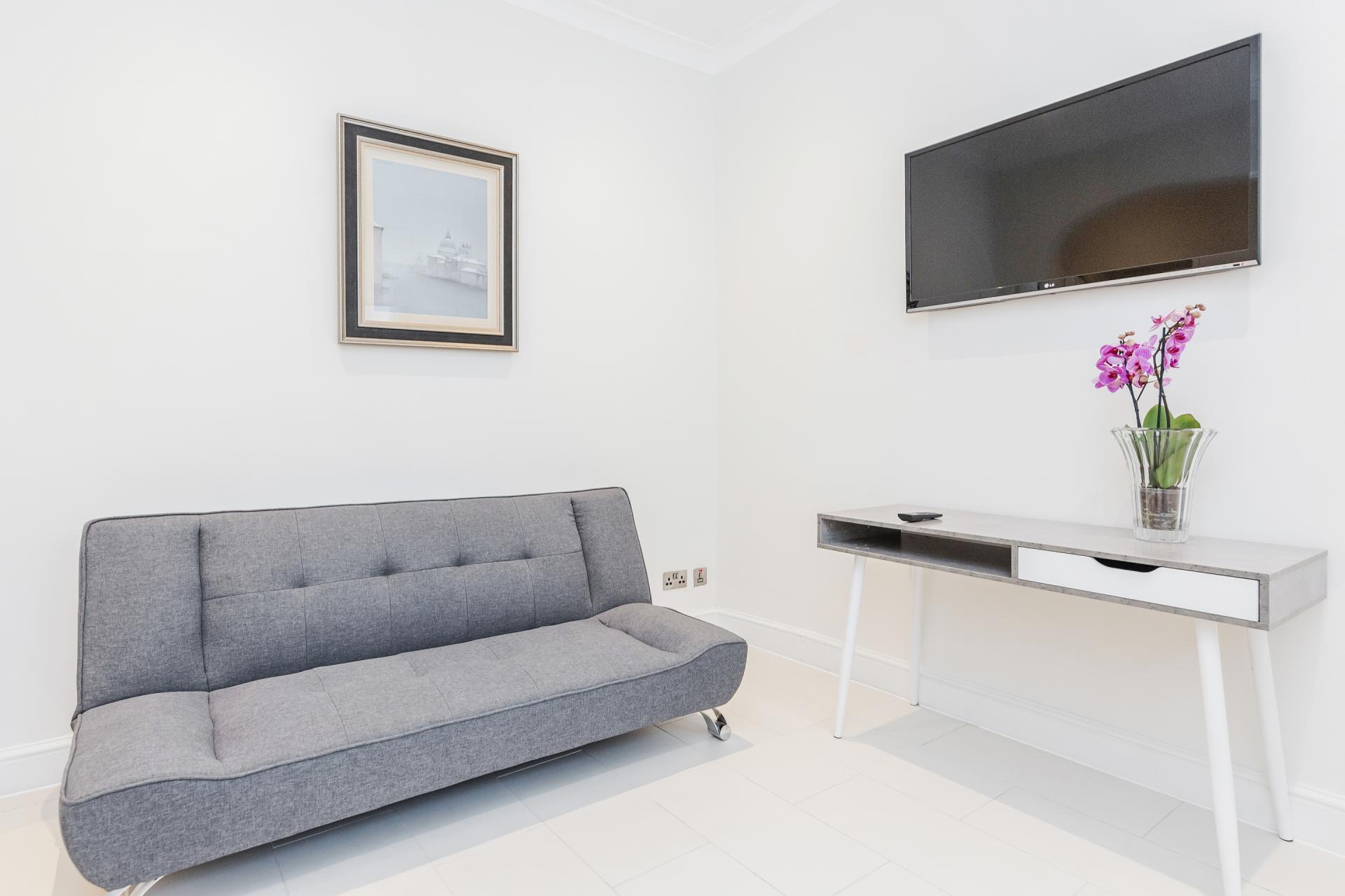 Couch at Mayfair House, Mayfair, London