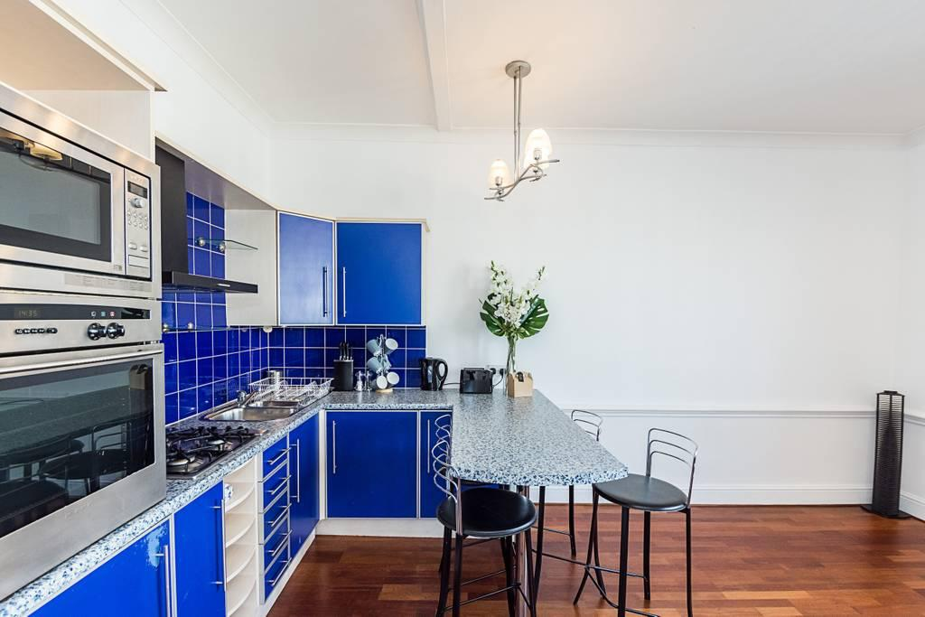 Kitchen at Clanricarde Gardens Apartment, Bayswater, London