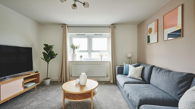 Living area at Turnstone View, Canley, Coventry