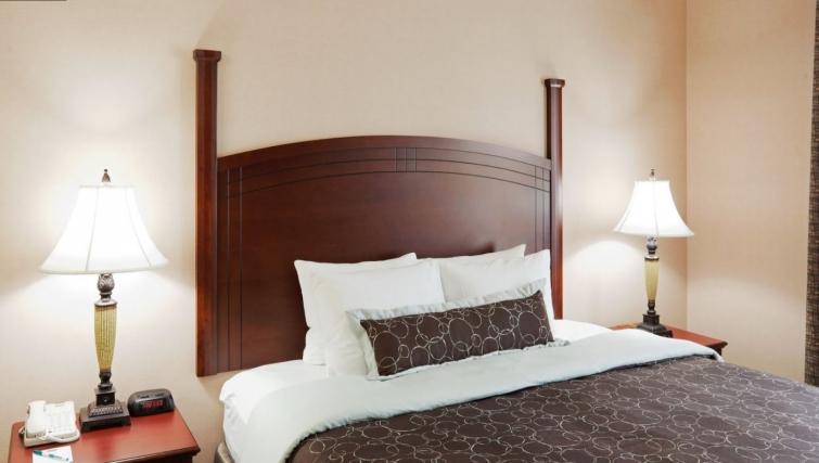 Spacious bedroom in Staybridge Suites Oakville Burlington