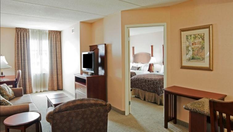 Lovely living area in Staybridge Suites Oakville Burlington