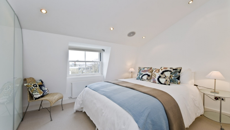 Stunning bedroom in Nevern Place Aparthotel