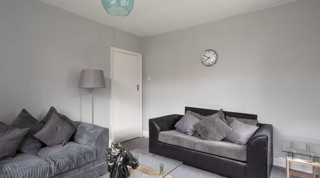 Living area at Frankpledge House, Cheylesmore, Coventry