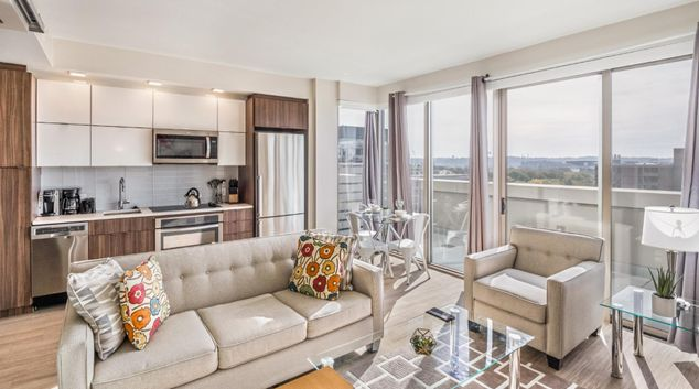 Louonge at 301 M Apartments, Southwest Waterfront, Washington DC