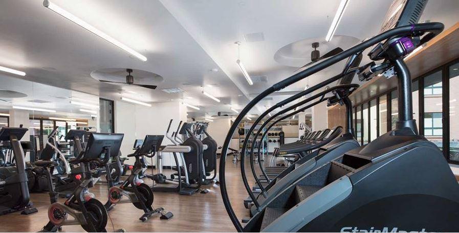 Gym at Avalon Dogpatch Apartment, Dogpatch, San Francisco