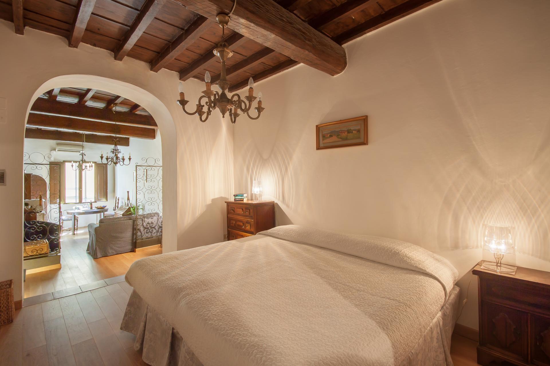 Bedroom at Borgo Ognissanti Apartment, Centre, Florence