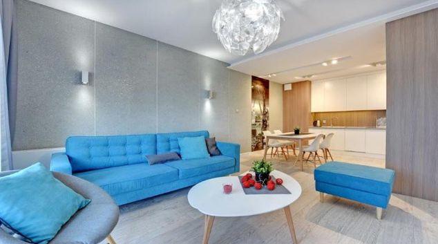 Living room at Stara Stocznia Apartments, Srodmiescie, Gdansk