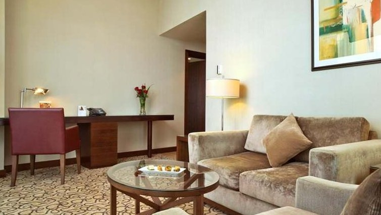 Sophisticated living area in Khalidiya Palace Rayhaan Apartments