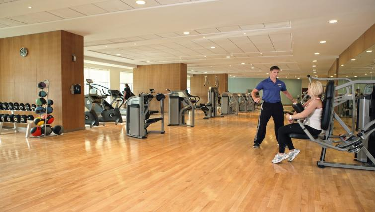 Gym at Khalidiya Palace Rayhaan Apartments