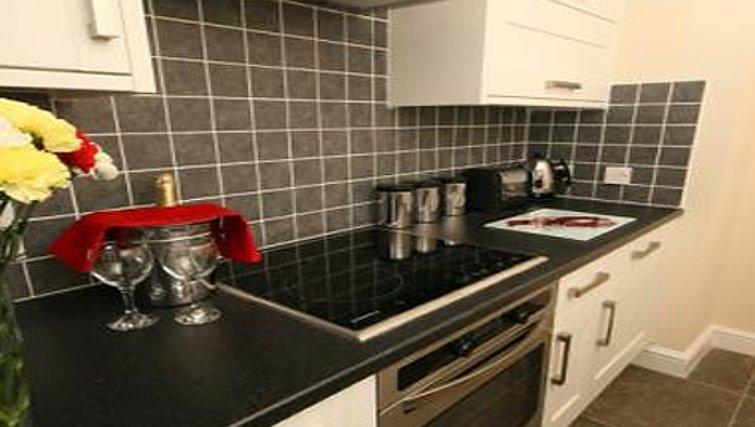 Kitchen in Coronation Street Apartment