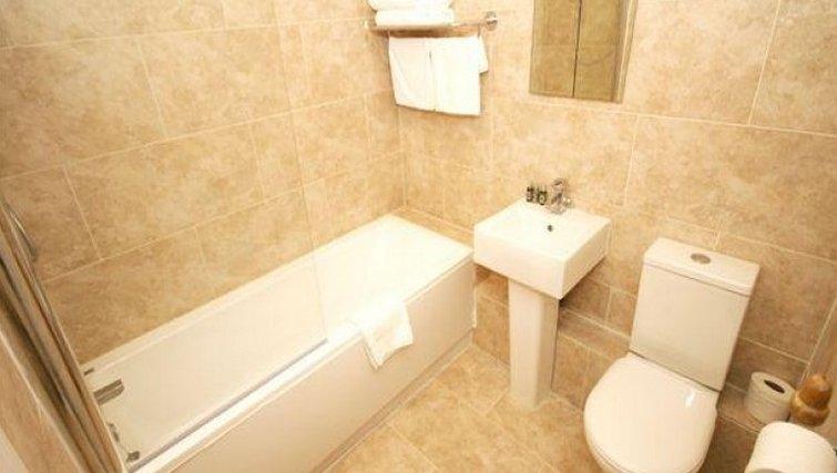 Bathroom in Coronation Street Apartment