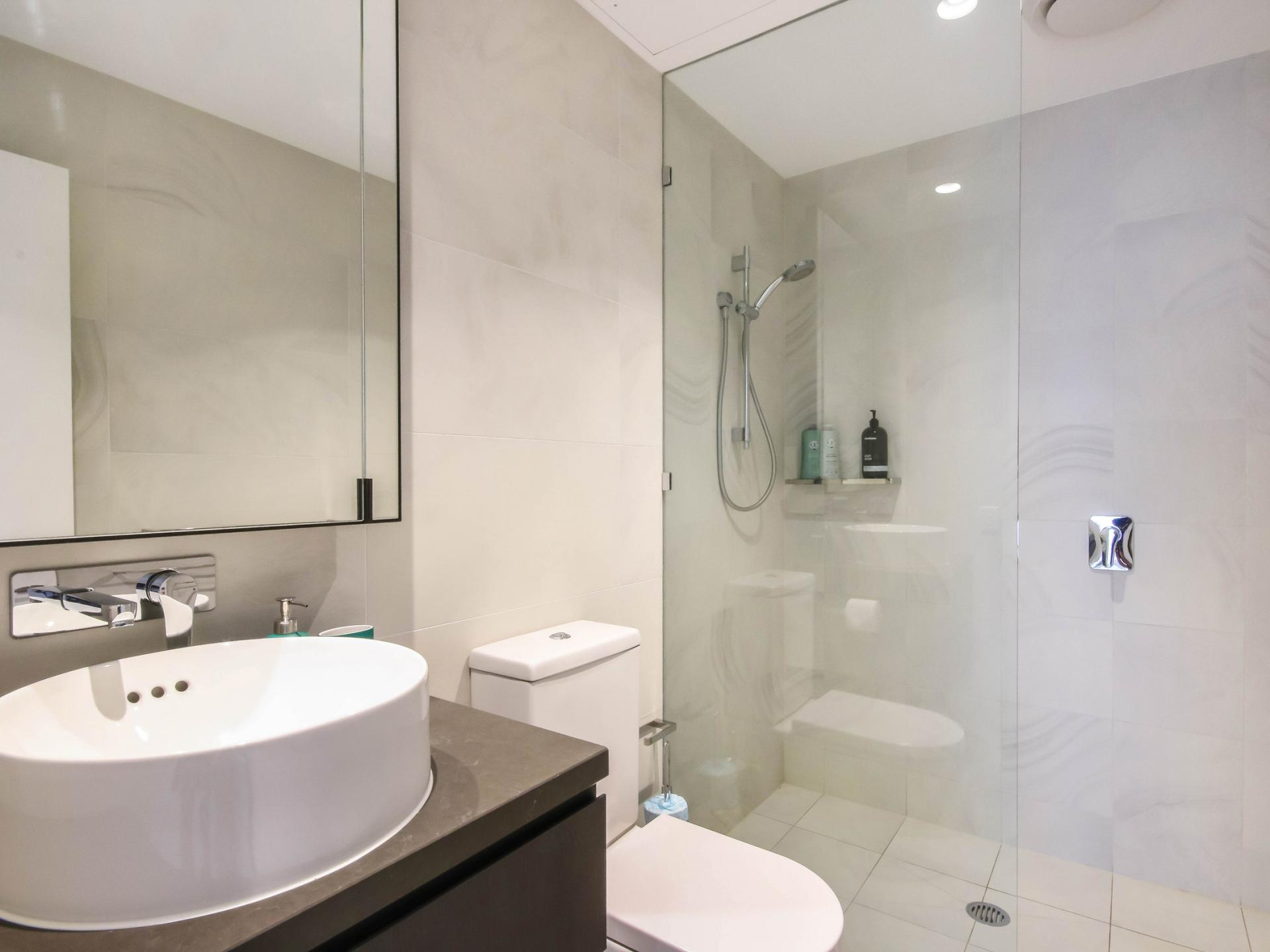 Bathroom at The Mary Street Apartment, Frog's Hollow, Brisbane