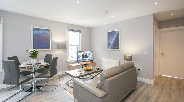 Living Room at Creighton Street Apartment, Centre, Dublin
