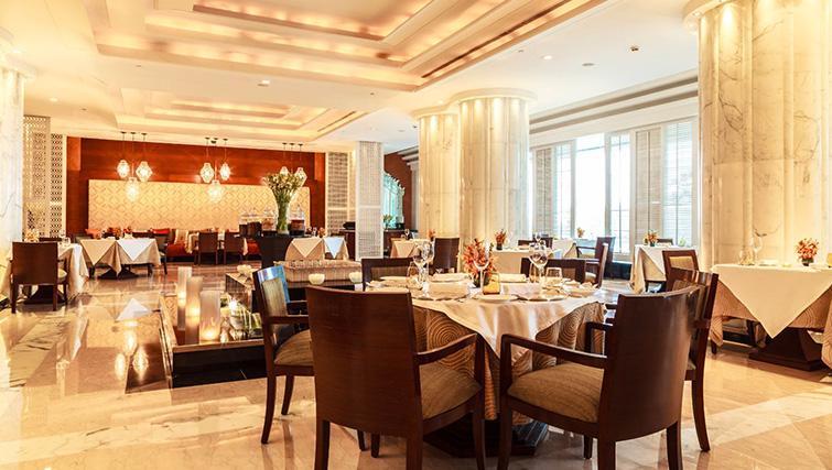 Dining Hall at The Leela Ambience Gurgaon Apartments