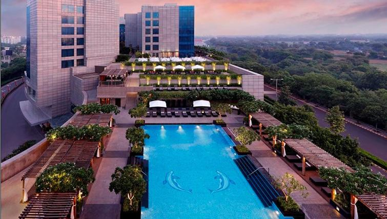Pool at The Leela Ambience Gurgaon Apartments