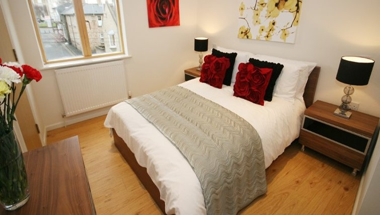 Bedroom in St Peters Penthouse Apartment