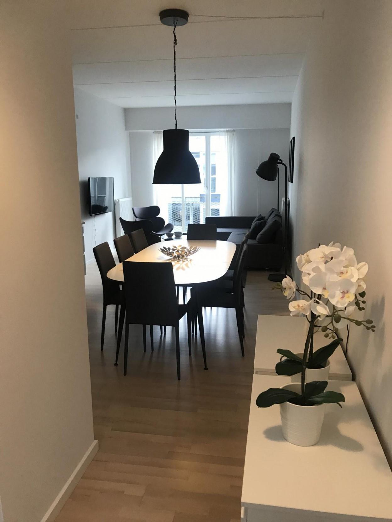 Dining area at Ben Webster Vej Apartments, Sydhavnen, Copenhagen