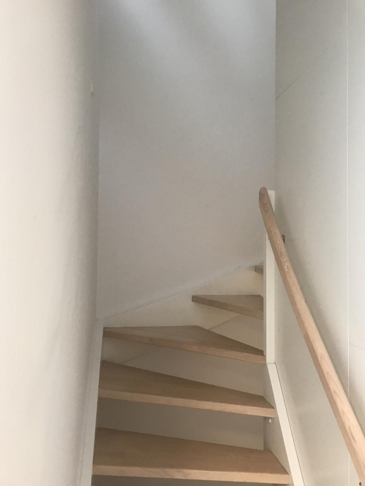 Stairs at Ben Webster Vej Apartments, Sydhavnen, Copenhagen