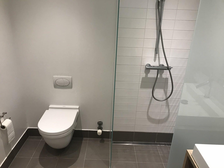 Toilet at Ben Webster Vej Apartments, Sydhavnen, Copenhagen