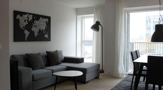 Lounge at Alliancevej Apartments, Sydhavnen, Copenhagen