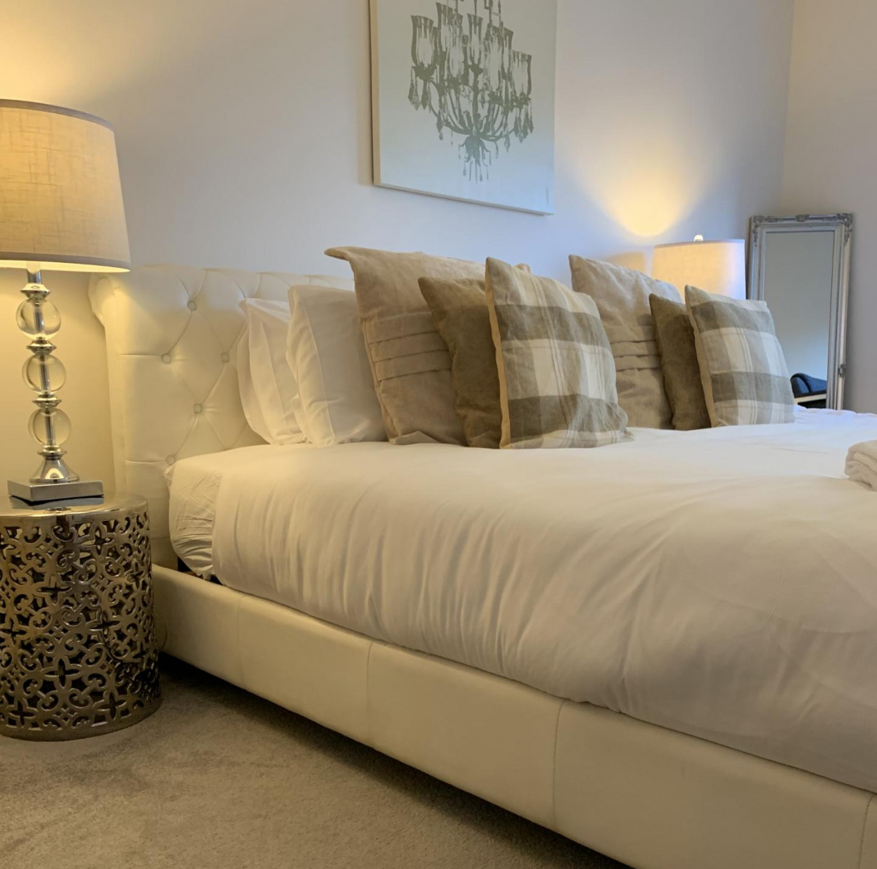 Bedroom at Queens Highlands Apartments, Rubislaw, Aberdeen