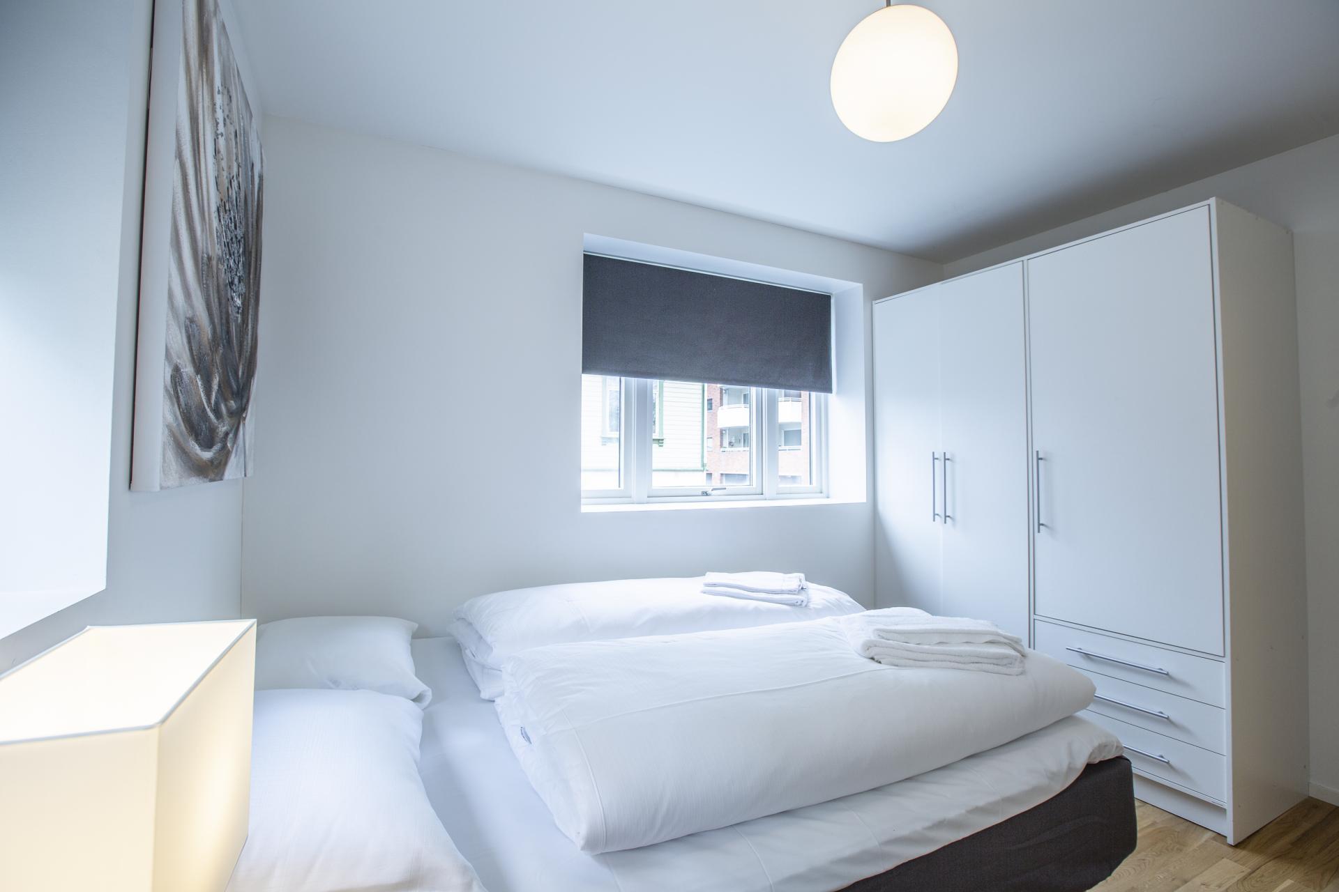 Bedding at Saudagata 9 Apartment, Lagard, Stavanger
