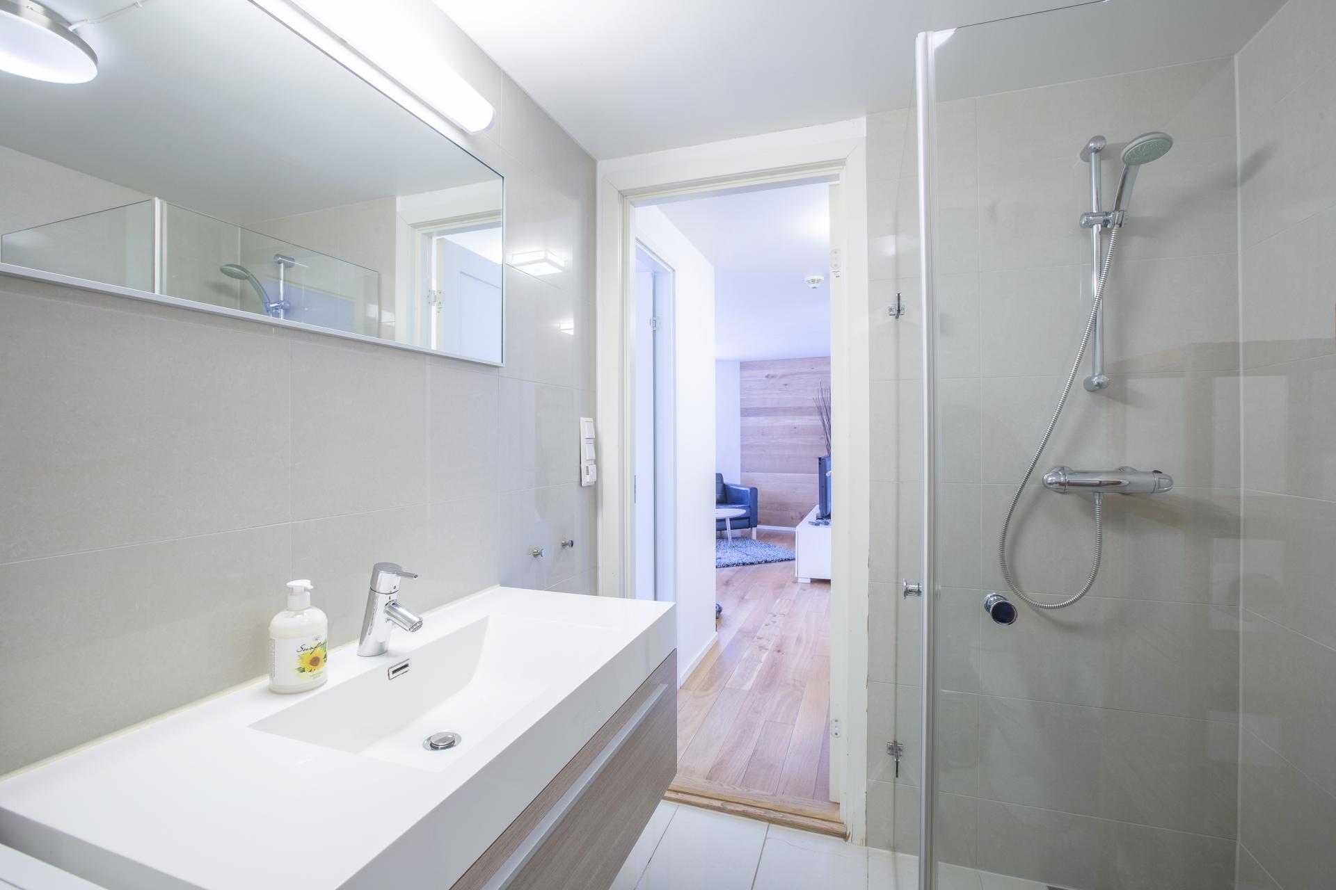 Sink at Saudagata 9 Apartment, Lagard, Stavanger