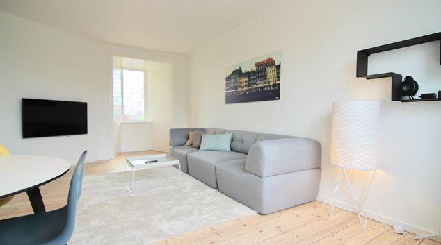 Lounge at Tomgårdsvej Apartment, Nordvest, Copenhagen