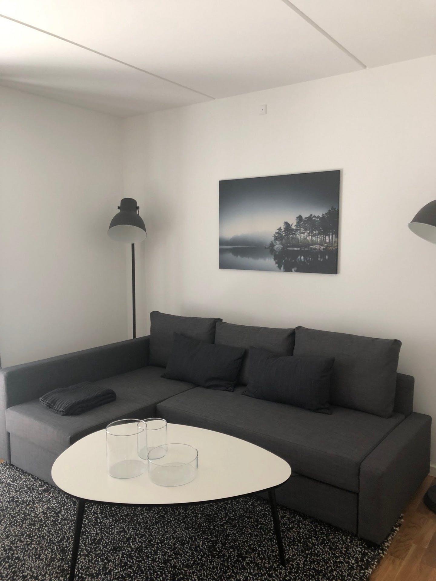 Lounge at Møllehatten 11 Apartment, Risskov, Aarhus