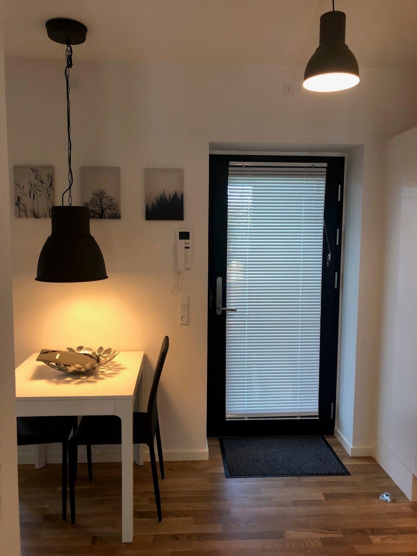 Table at Møllehatten 11 Apartment, Risskov, Aarhus