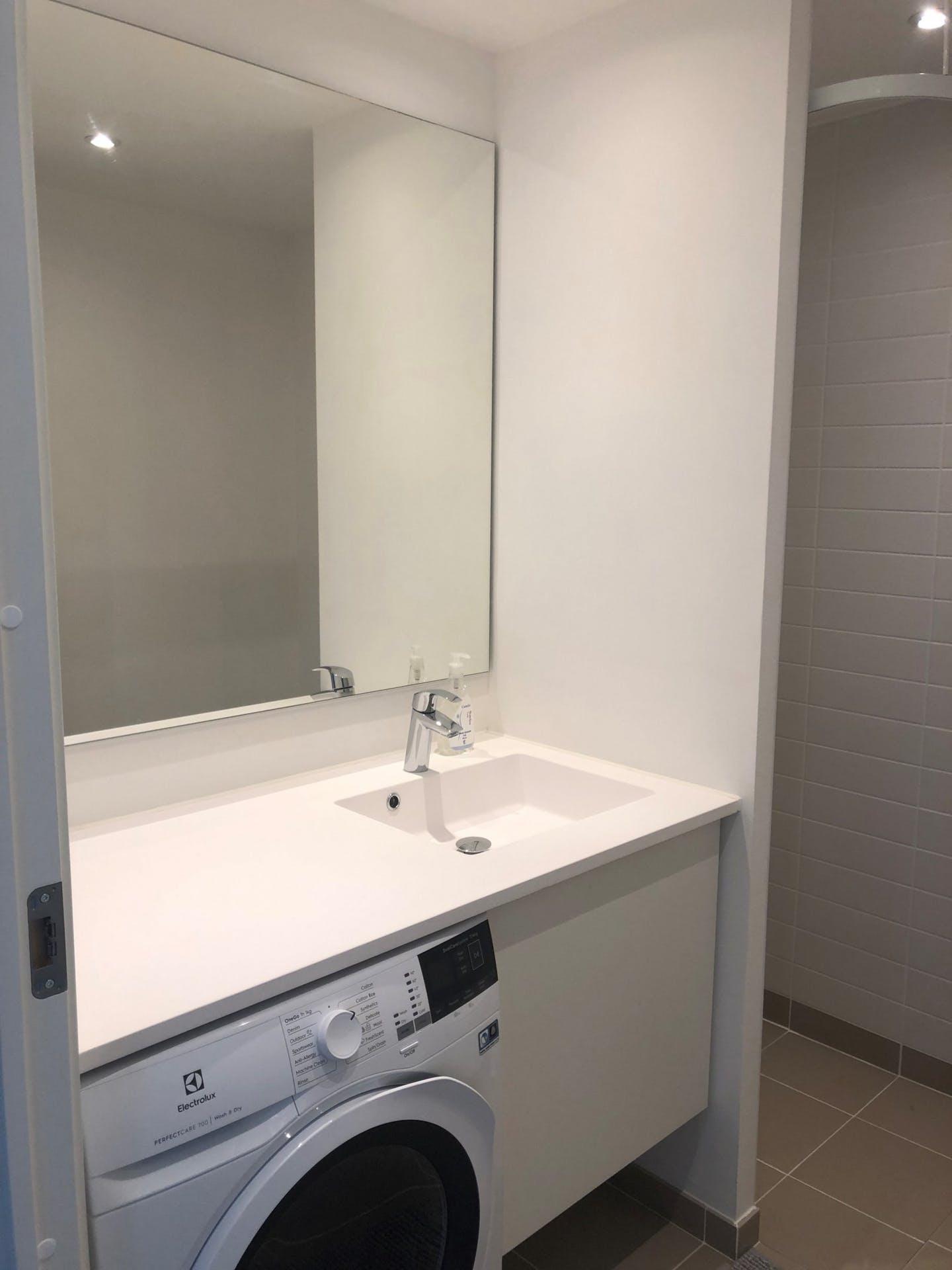 Sink at Møllehatten 11 Apartment, Risskov, Aarhus