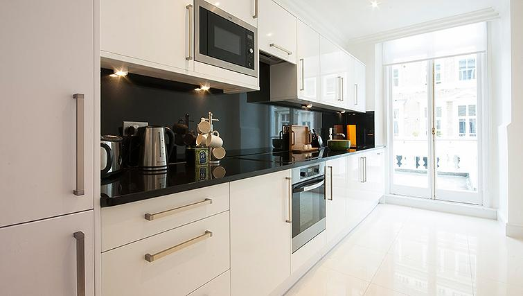 Excellent kitchen in Manson Place Apartments