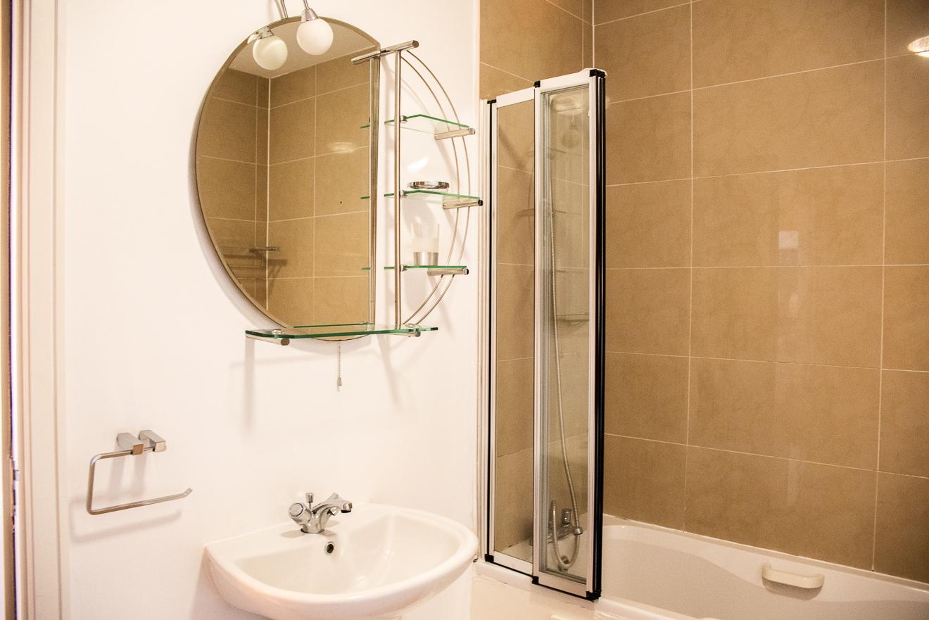Bathroom at Ridge Hall Apartment, Ballybrack, Dublin