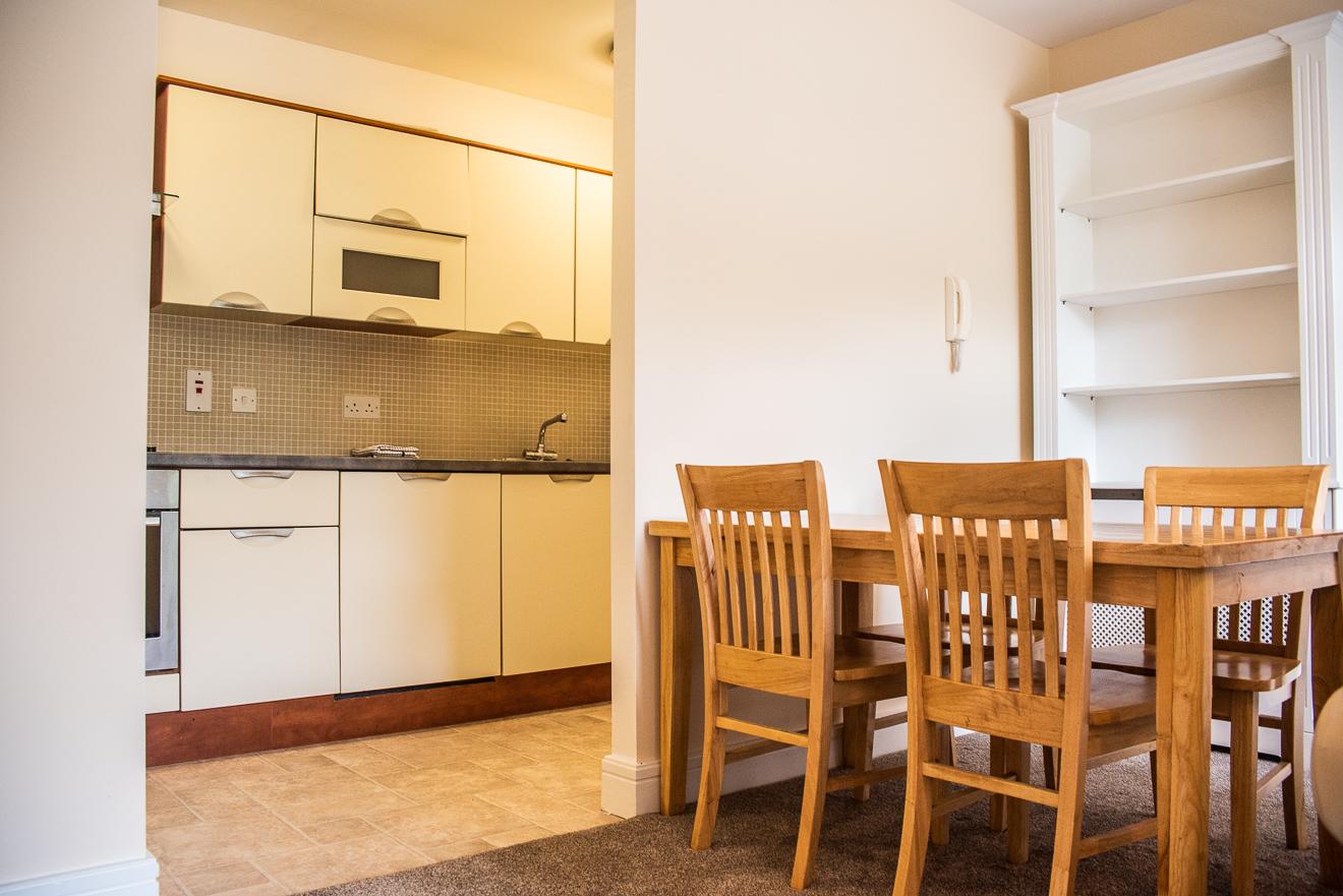 Kitchen diner at Ridge Hall Apartment, Ballybrack, Dublin
