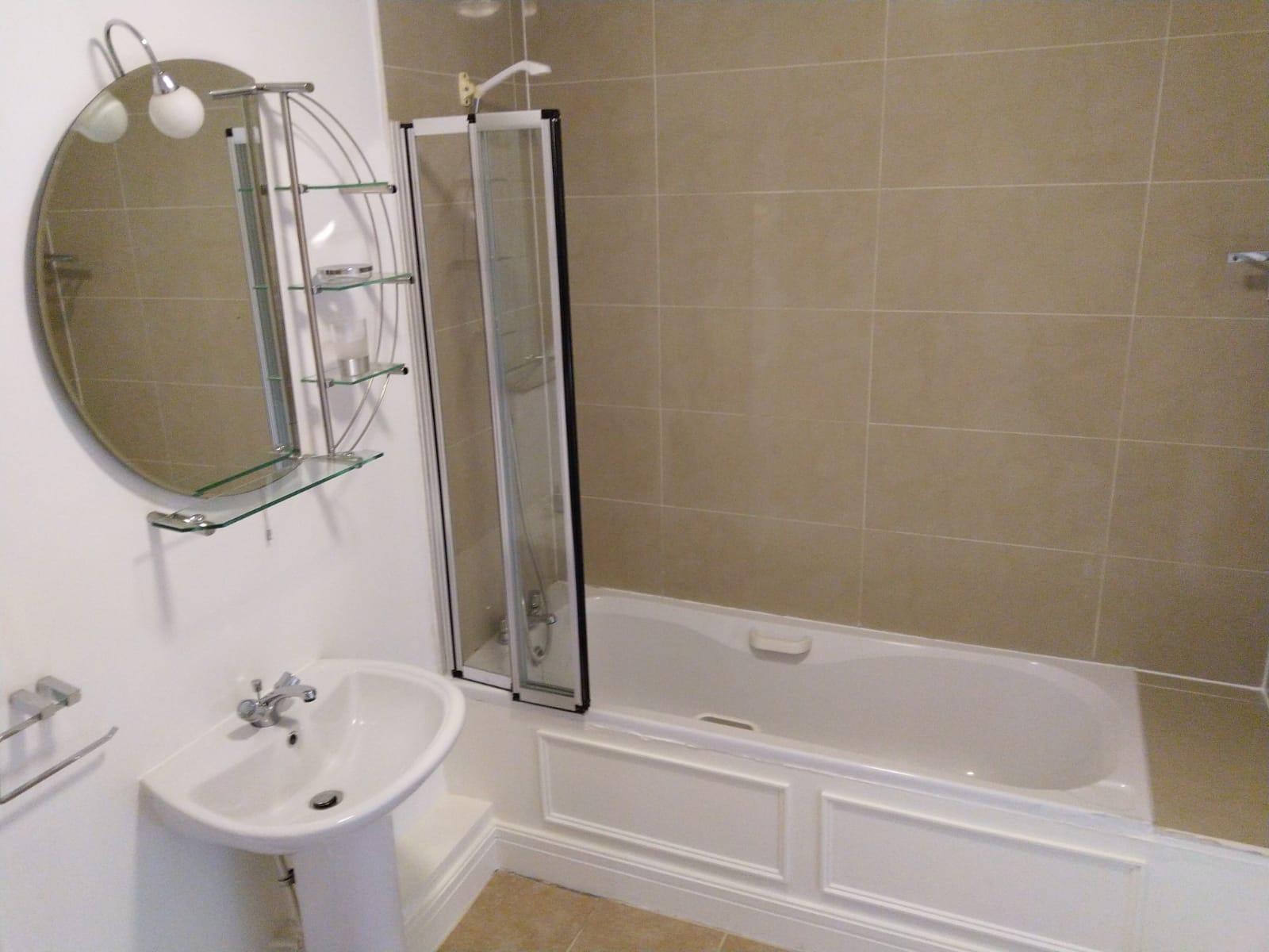Bath at Ridge Hall Apartment, Ballybrack, Dublin