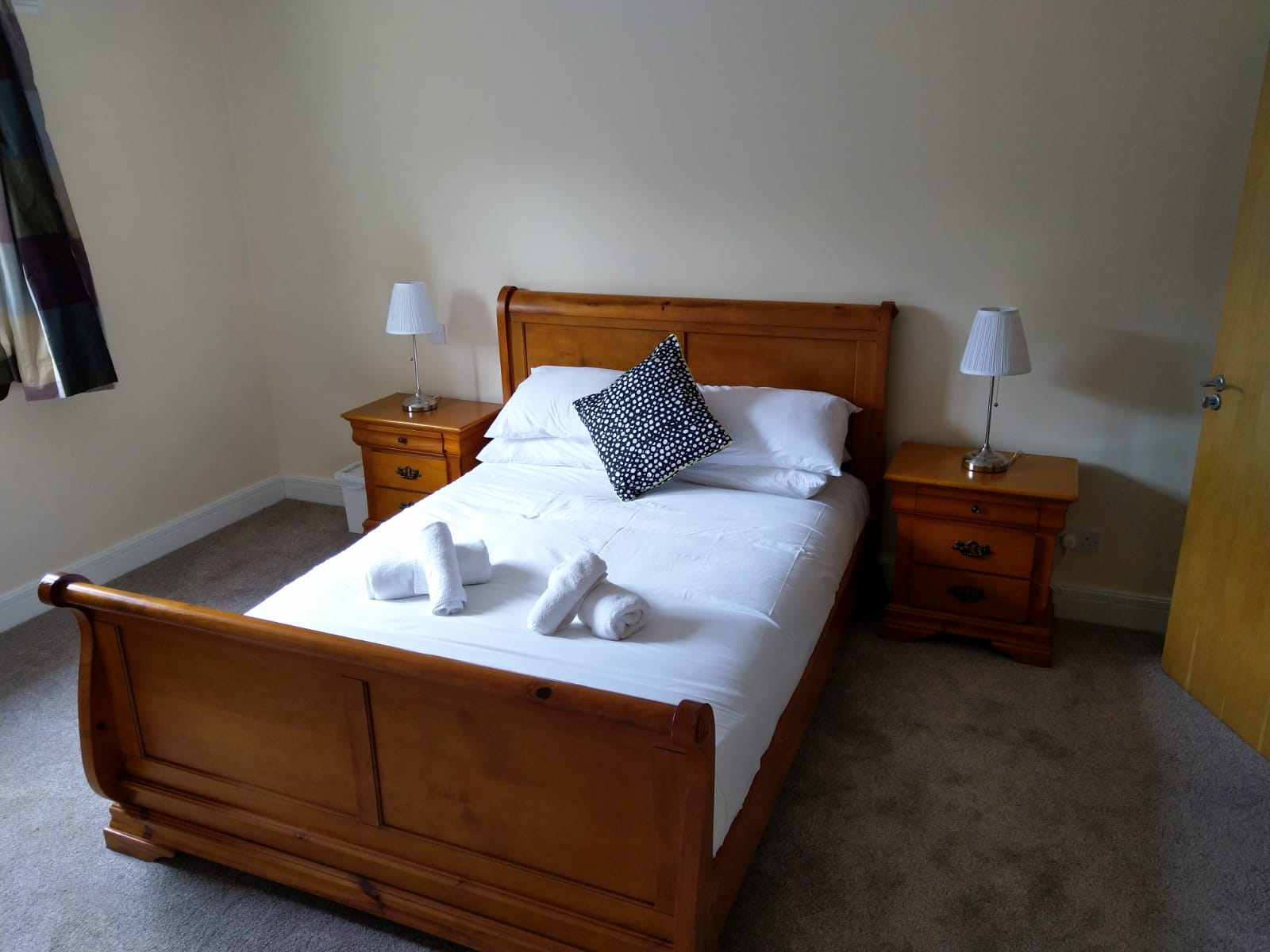 Towels at Ridge Hall Apartment, Ballybrack, Dublin
