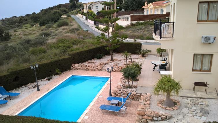 Swimming pool at Kapsalia Holiday Villas