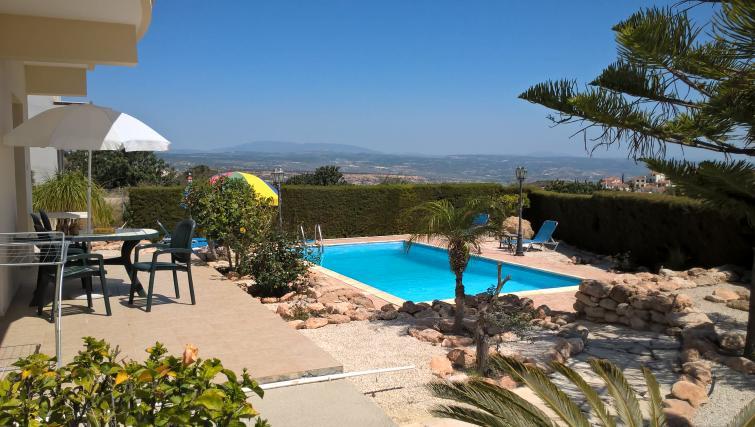 Pool in Kapsalia Holiday Villas