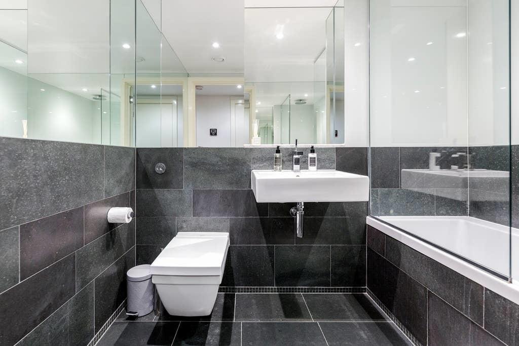 Bathroom at Chelsea Serviced Apartments, Chelsea, London