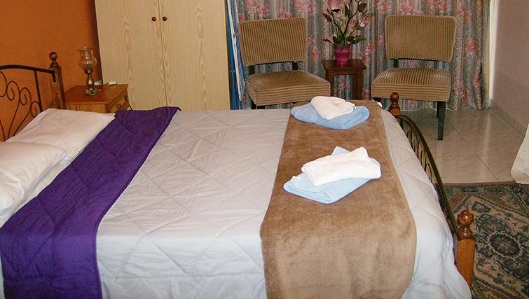 Pleasant bedroom in Rantzo Holiday Apartments