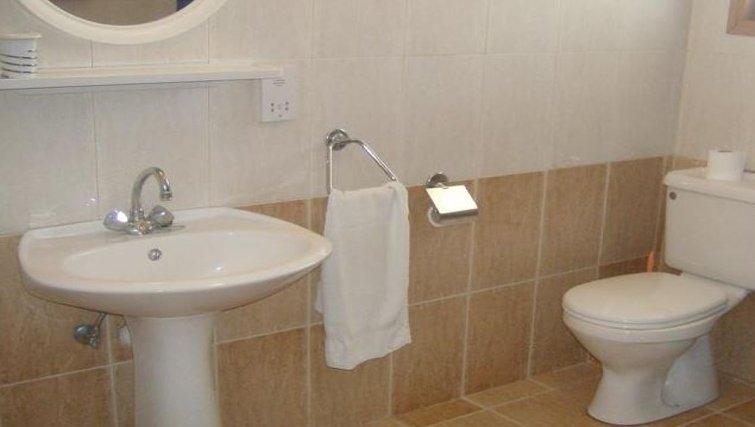 Bathroom in Rantzo Holiday Apartments