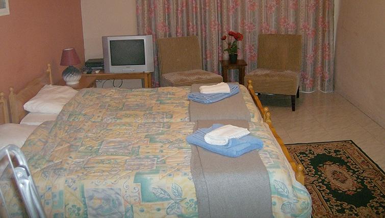 Double bedroom at Rantzo Holiday Apartments